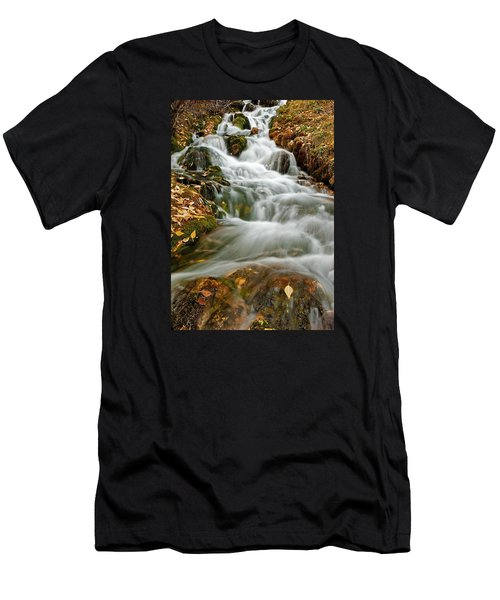 Silky Waterfall Men's T-Shirt (Athletic Fit)