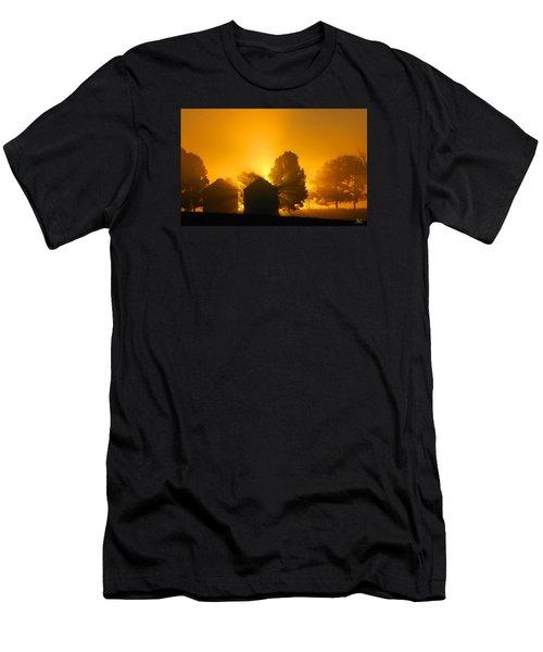 Silo Sunrise Men's T-Shirt (Athletic Fit)