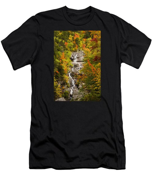 Silver Cascade Men's T-Shirt (Athletic Fit)