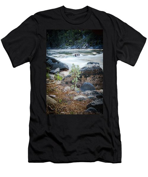 Silver Fork Manzanita Men's T-Shirt (Athletic Fit)