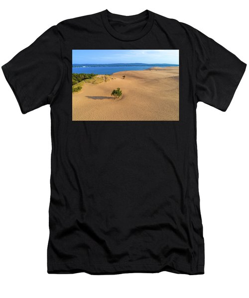 Silver Lake Dunes Men's T-Shirt (Athletic Fit)