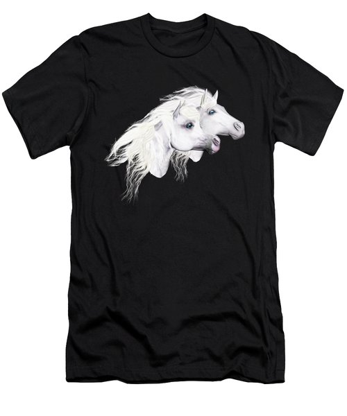 Silver Manes Men's T-Shirt (Athletic Fit)