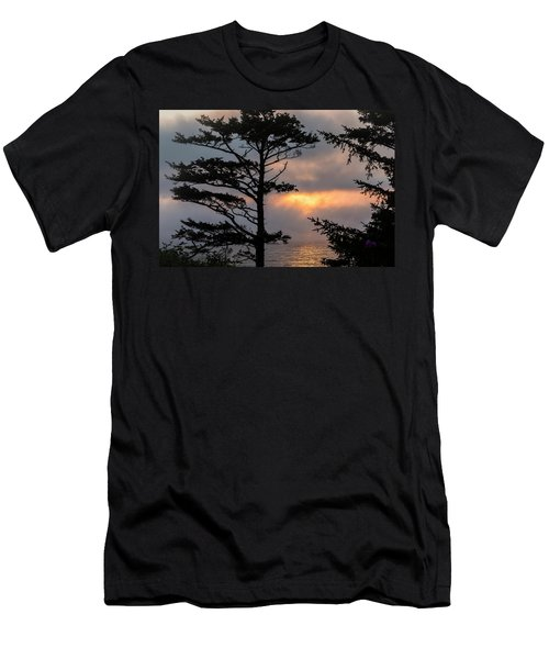 Silver Point Silhouette Men's T-Shirt (Athletic Fit)