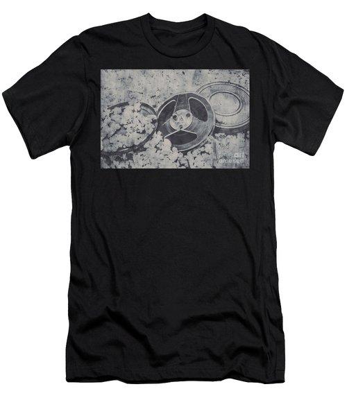 Silver Screen Film Noir Men's T-Shirt (Athletic Fit)
