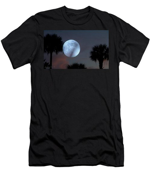 Silver Sky Ball Men's T-Shirt (Athletic Fit)