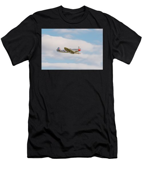 Silver Spitfire Men's T-Shirt (Athletic Fit)