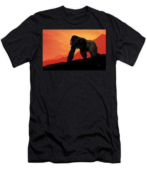 Silverback Gorilla Men's T-Shirt (Athletic Fit)