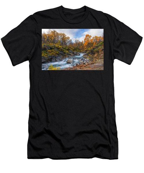 Silverfallet Men's T-Shirt (Athletic Fit)