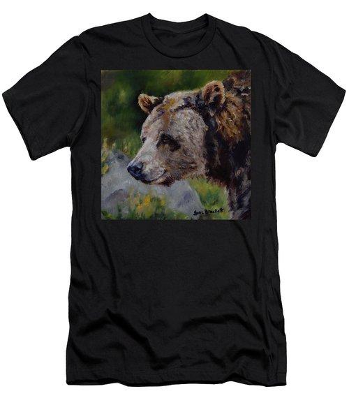 Silvertip Men's T-Shirt (Slim Fit) by Lori Brackett
