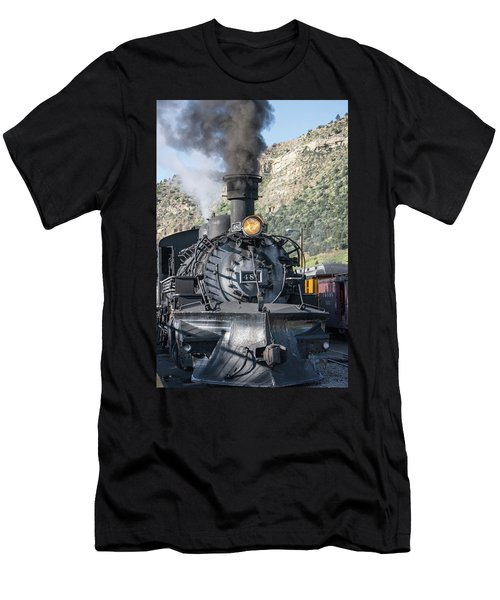 Men's T-Shirt (Athletic Fit) featuring the photograph Silverton Bound by Colleen Coccia