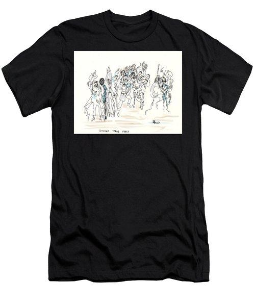 Simchat Torah Men's T-Shirt (Athletic Fit)