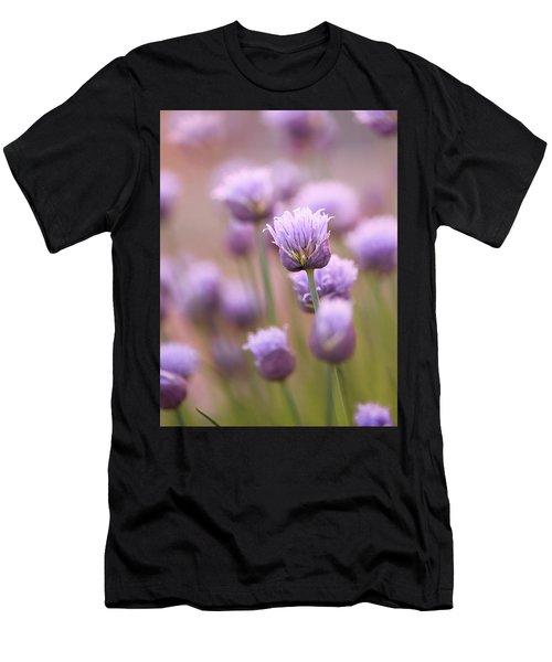 Simple Flowers Men's T-Shirt (Athletic Fit)