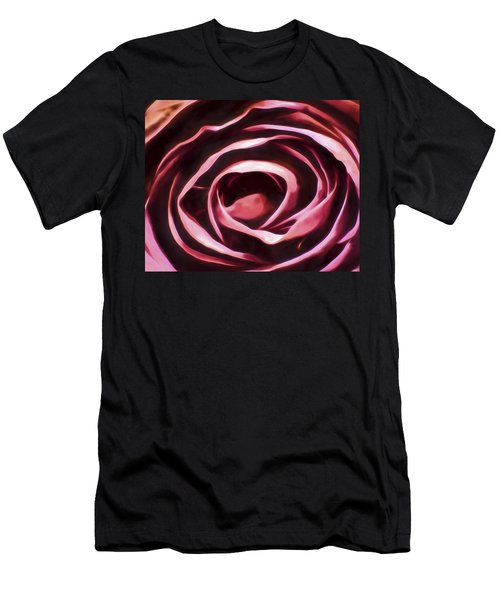 Simple Rose Men's T-Shirt (Athletic Fit)