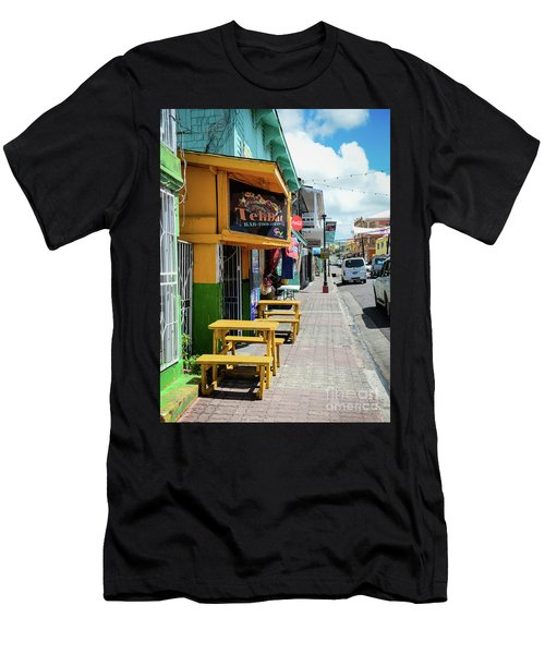 Simple Street View Men's T-Shirt (Athletic Fit)