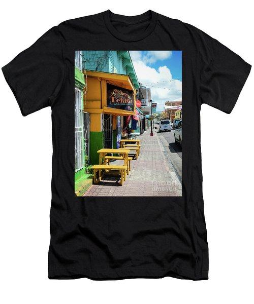 Simple Street View Men's T-Shirt (Athletic Fit)