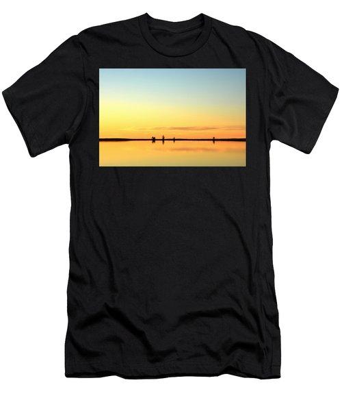 Simple Sunrise Men's T-Shirt (Athletic Fit)