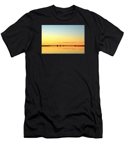 Simple Sunrise Men's T-Shirt (Athletic Fit)
