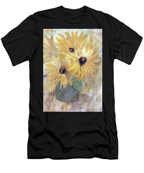Simply Sunflowers  Men's T-Shirt (Athletic Fit)