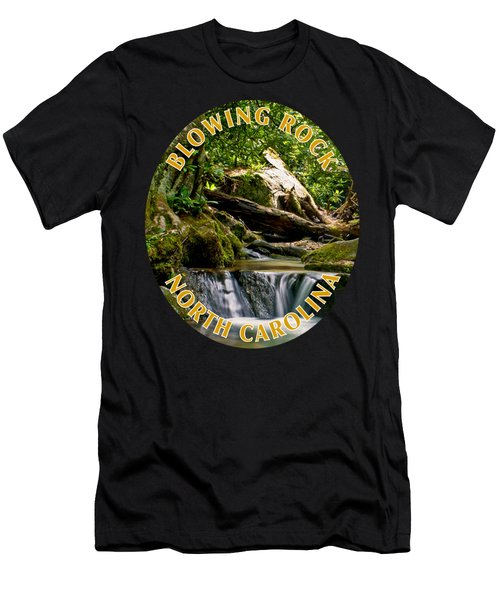 Sims Creek Waterfall T-shirt Men's T-Shirt (Athletic Fit)