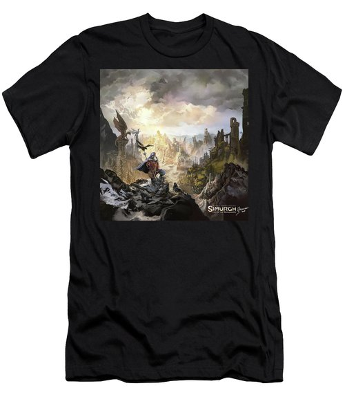 Simurgh Call Of The Dragonlord Men's T-Shirt (Athletic Fit)
