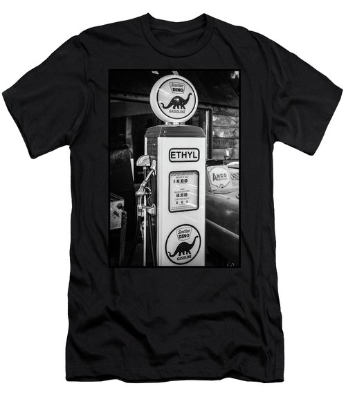 Sinclair Dino Gas Pump Men's T-Shirt (Athletic Fit)