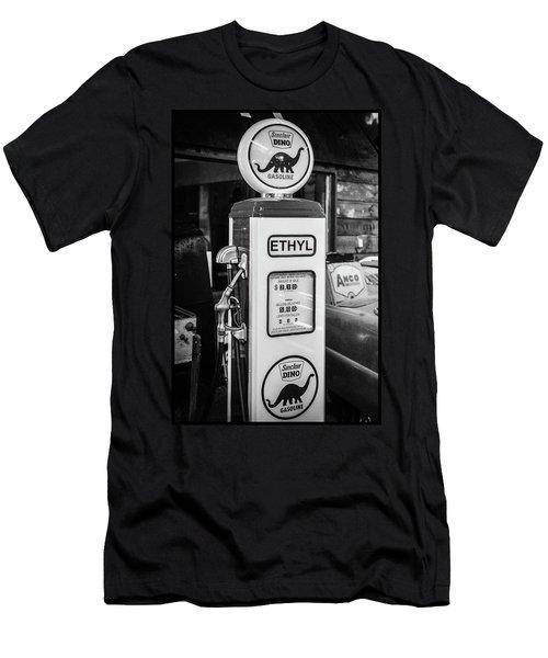 Sinclair Dino Gas Pump Men's T-Shirt (Athletic Fit)