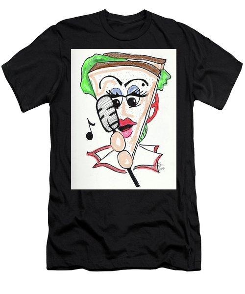 Singer Sandwich Men's T-Shirt (Athletic Fit)