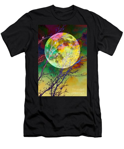 Singing By The Light Of The Moon Men's T-Shirt (Athletic Fit)