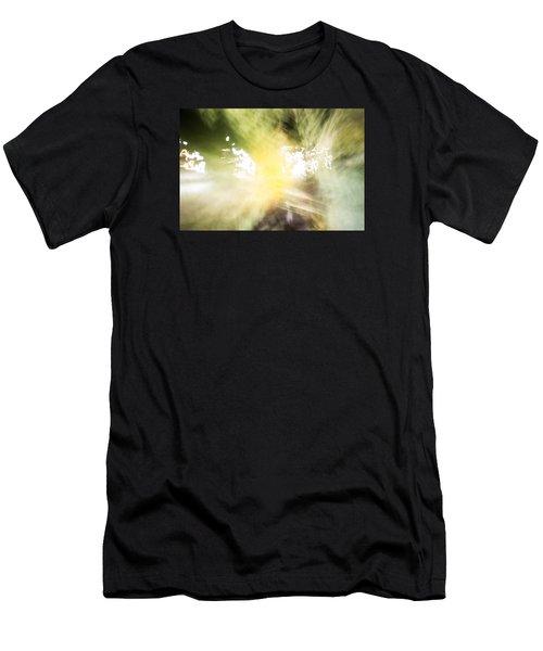 Singing Patterns Men's T-Shirt (Athletic Fit)