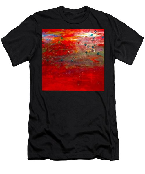Singing With Passion Men's T-Shirt (Athletic Fit)
