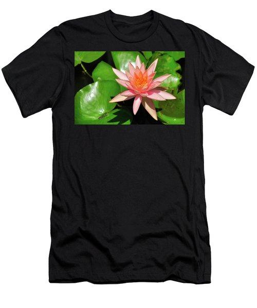 Single Flower Men's T-Shirt (Athletic Fit)