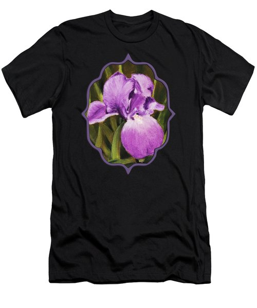 Single Iris Men's T-Shirt (Athletic Fit)