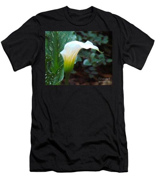Single Lily  Men's T-Shirt (Athletic Fit)