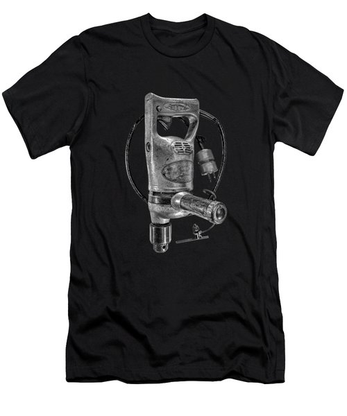 Sioux Drill Motor 1/2 Inch Bw Men's T-Shirt (Athletic Fit)