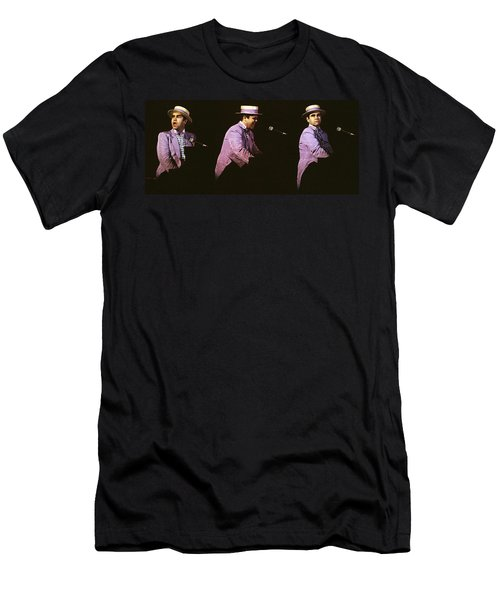 Sir Elton John 3 Men's T-Shirt (Athletic Fit)