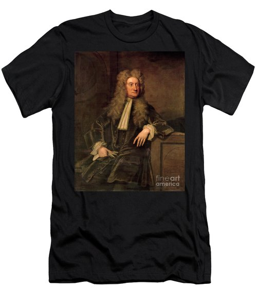 Sir Isaac Newton  Men's T-Shirt (Athletic Fit)
