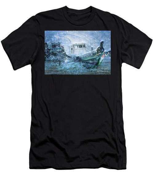 Siren Ship Men's T-Shirt (Athletic Fit)