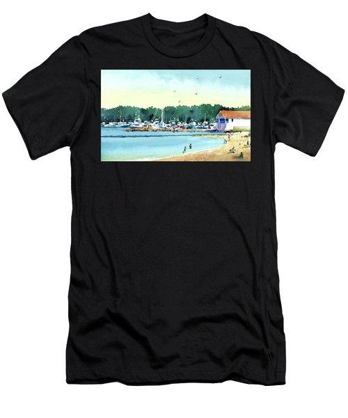 Sister Bay, Door County Men's T-Shirt (Athletic Fit)