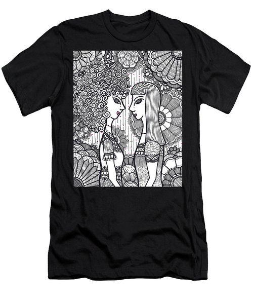 Sisters - Ink Men's T-Shirt (Athletic Fit)