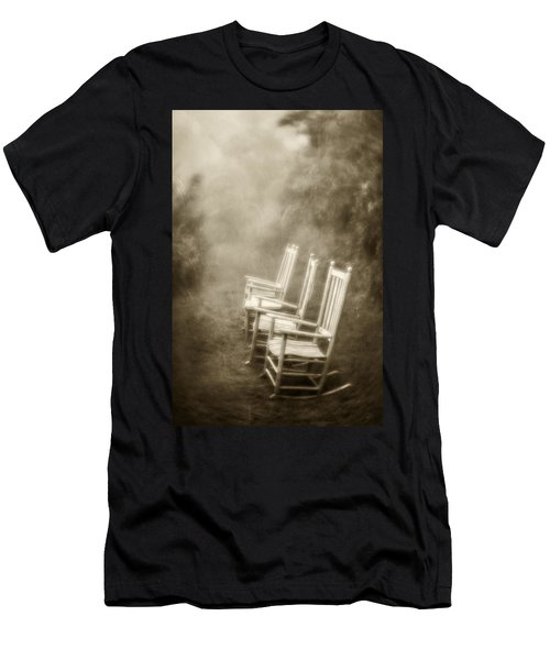 Sit A Spell-sepia Men's T-Shirt (Athletic Fit)