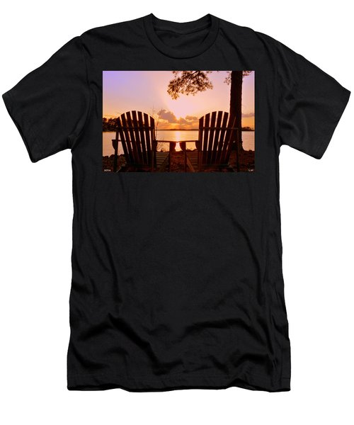 Sit Down And Relax Men's T-Shirt (Athletic Fit)
