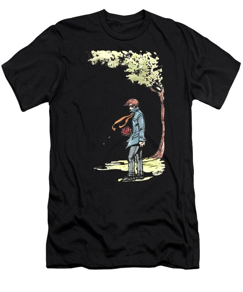 The Site Visitor Men's T-Shirt (Athletic Fit)