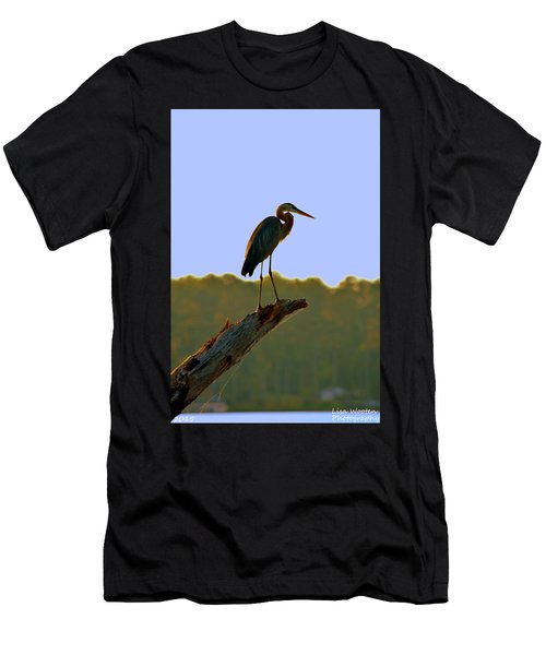 Sitting High On The Log Men's T-Shirt (Athletic Fit)