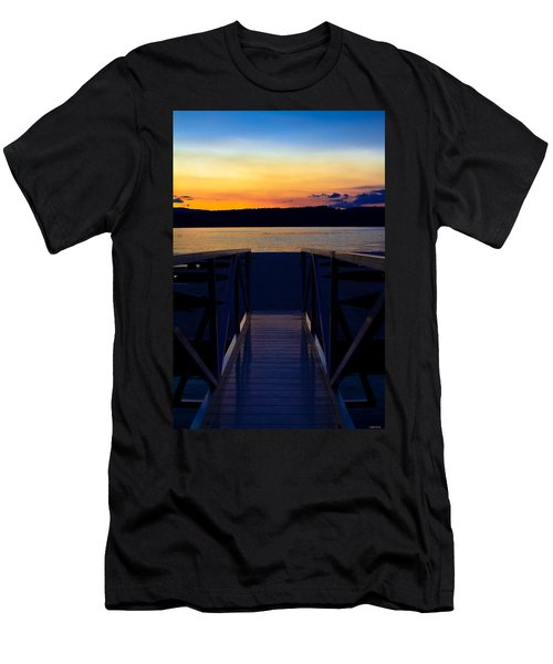 Sitting On The Dock Of A Bay Men's T-Shirt (Athletic Fit)
