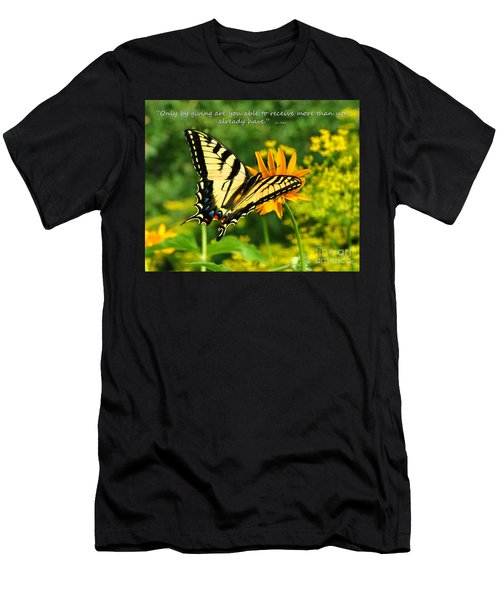 Sitting Pretty Giving Men's T-Shirt (Athletic Fit)