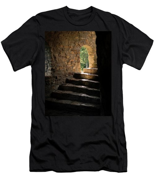 Six Steps And Sunlight Men's T-Shirt (Athletic Fit)
