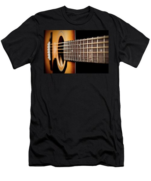 Six String Guitar Men's T-Shirt (Athletic Fit)