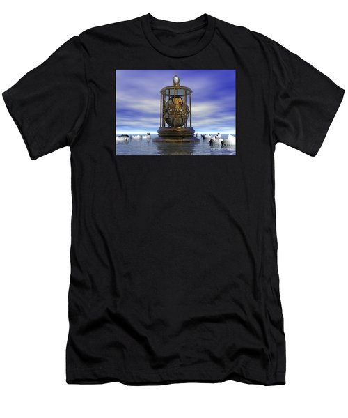 Sixth Sense - Surrealism Men's T-Shirt (Athletic Fit)
