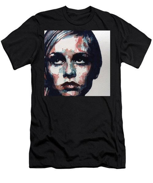 Sixties Sixties Sixties Twiggy Men's T-Shirt (Athletic Fit)