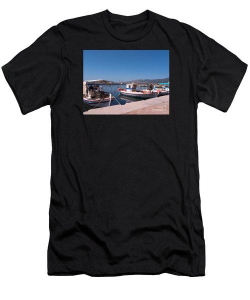 Skala Kalloni Lesvos Men's T-Shirt (Athletic Fit)